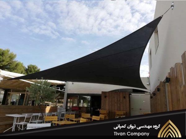 سازه های پارچه ای کافه و رستوران